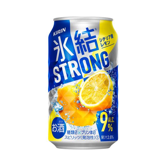 キリン 氷結®ストロング シチリア産レモン 350ml 缶(お酒)