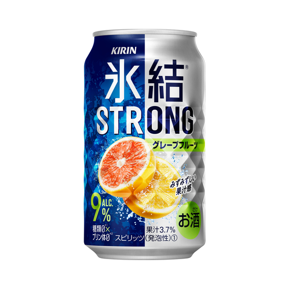 キリン 氷結®ストロング グレープフルーツ 350ml 缶(お酒)