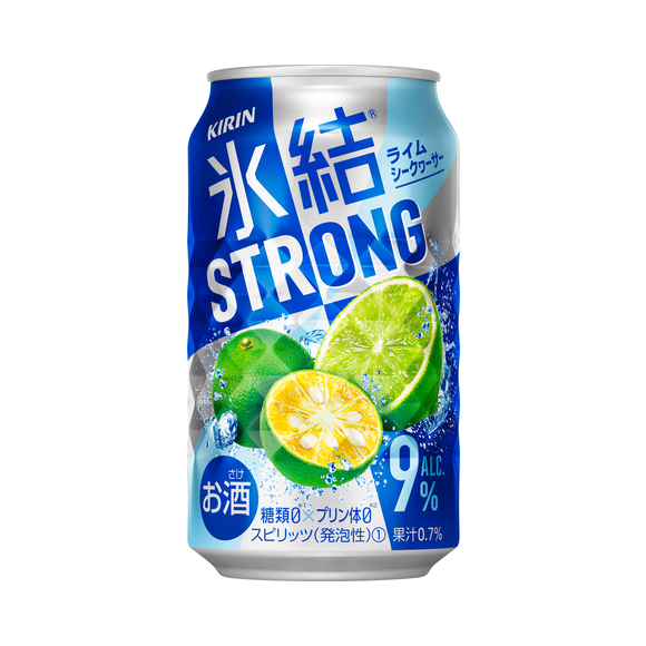 キリン 氷結®ストロング ライムシークヮーサー 350ml 缶(お酒)