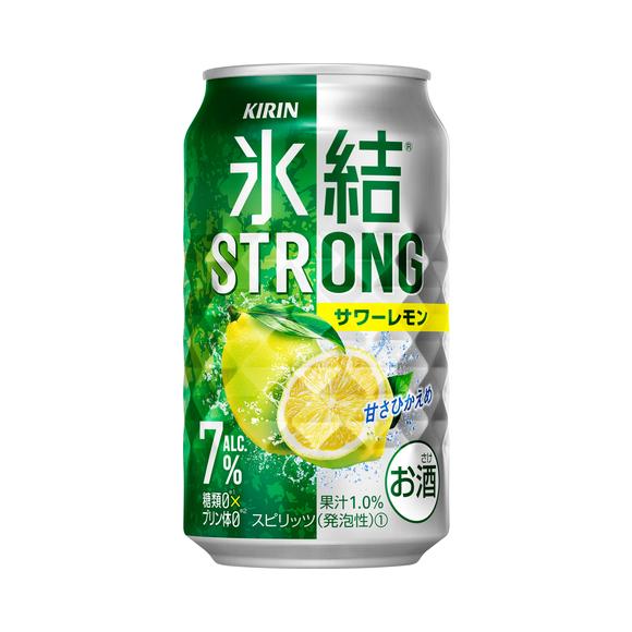 キリン 氷結®ストロング サワーレモン 350ml 缶(お酒)