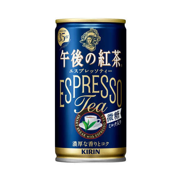 キリン 午後の紅茶 エスプレッソティー微糖 185g 缶