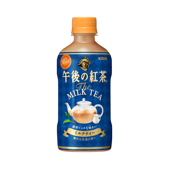キリン 午後の紅茶 ミルクティー ホット 400ml ペットボトル