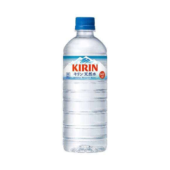 キリン 天然水 600ml ペットボトル