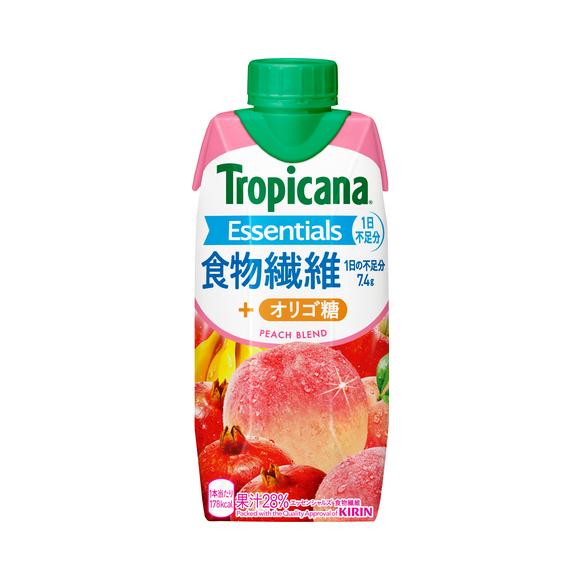 トロピカーナ エッセンシャルズ 食物繊維 330ml LLプリズマ容器