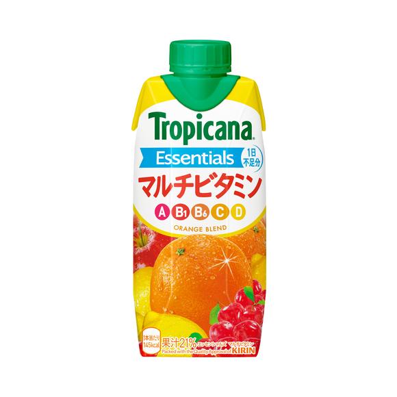 トロピカーナ エッセンシャルズ マルチビタミン 330ml LLプリズマ容器