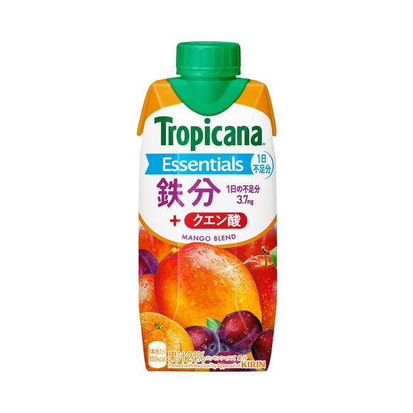 トロピカーナ エッセンシャルズ 鉄分 330ml LLプリズマ容器
