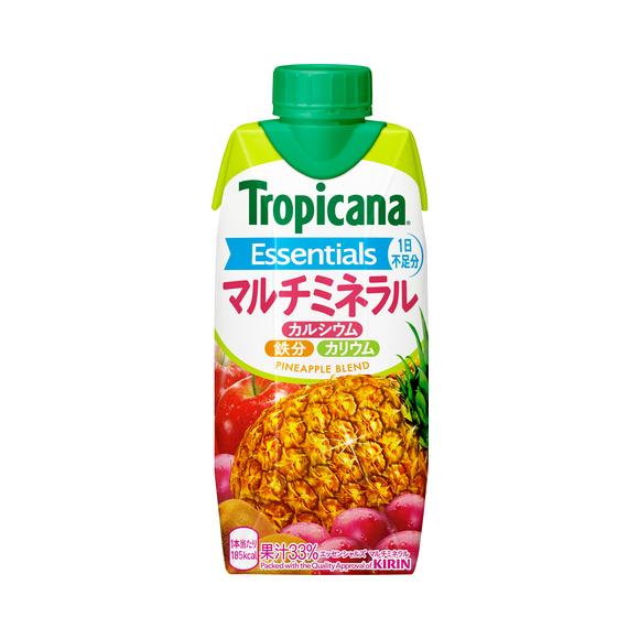 トロピカーナ エッセンシャルズ マルチミネラル 330ml LLプリズマ容器